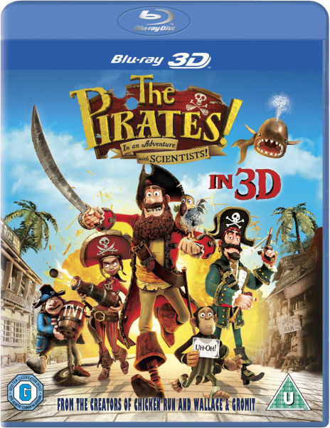 The Pirates! In an Adventure with Scientists 3D (Includes UltraViolet Copy)