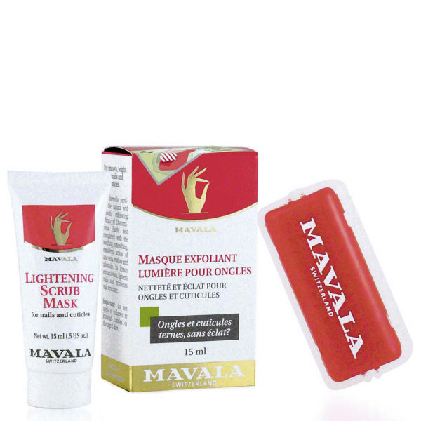 Mavala Lightening Nail Scrub Mask (15ml)