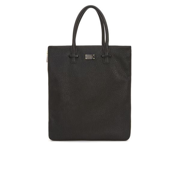 Paul's Boutique Stevie Classic Texture Zip Tote Bag - Black