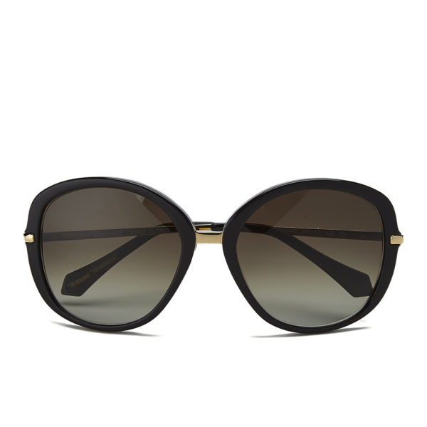 Vivienne Westwood Oversized Sunglasses - Black