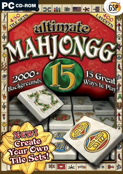 Mahjongg 15 Pc Zavvi