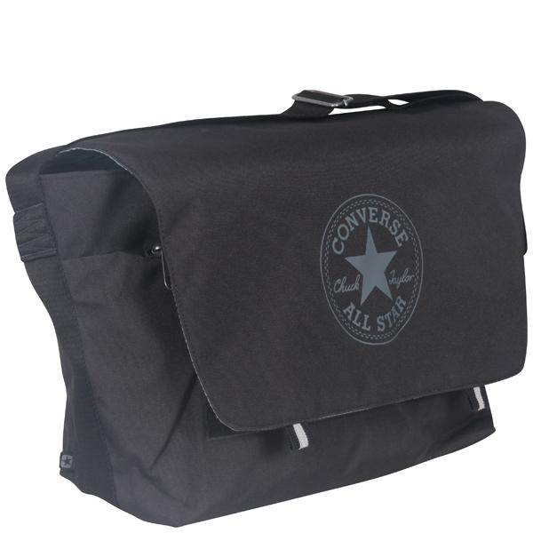 7f2b406584e Converse To Go Messenger bag in phantom black Mens Accessories ...