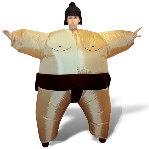Inflatable sumo costume iwoot