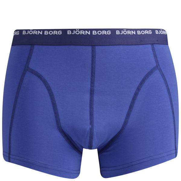 bjorn borg men 39 s 3 to go seasonal boxer shorts dazzling blue mens underwear zavvi. Black Bedroom Furniture Sets. Home Design Ideas