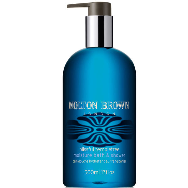 molton brown blissful templetree moisture bath and shower 500ml free shipping lookfantastic. Black Bedroom Furniture Sets. Home Design Ideas
