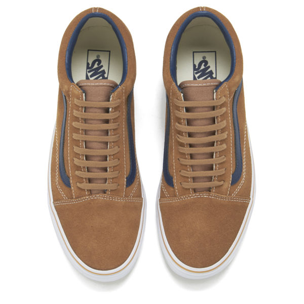 be5743acf709bd Vans Men s Old Skool Suede Leather Trainers - Brown Sugar  Image 2