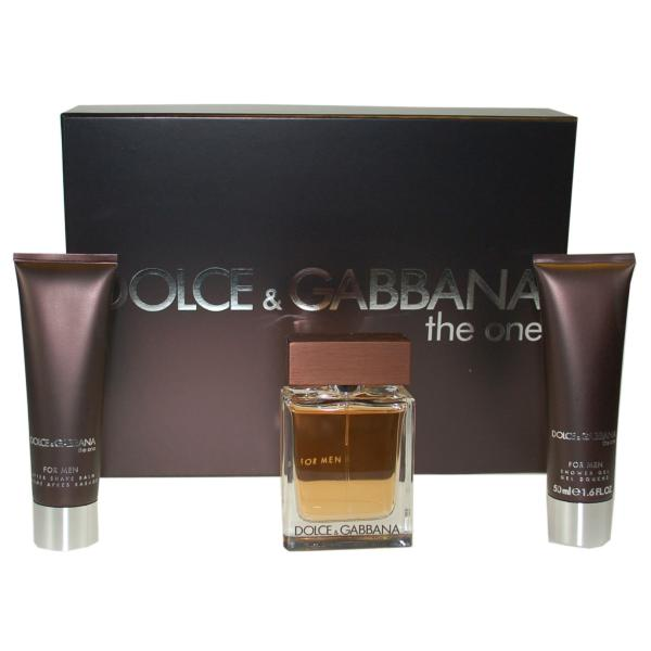 dolce gabbana the one for men gift set 50ml eau de. Black Bedroom Furniture Sets. Home Design Ideas