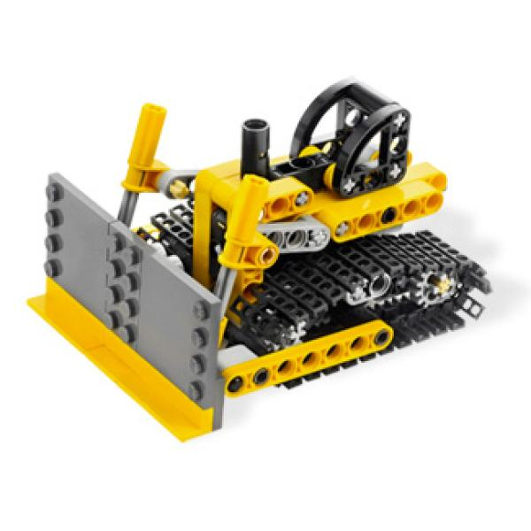 lego technic mini bulldozer toys. Black Bedroom Furniture Sets. Home Design Ideas