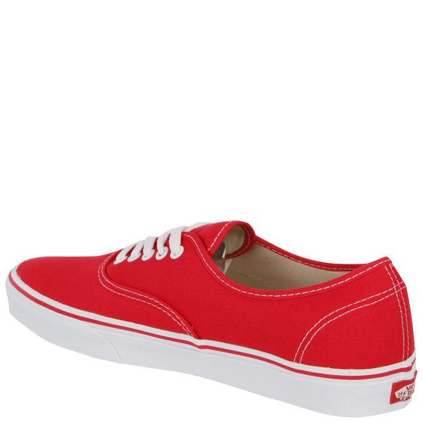 vans authentic  rojas