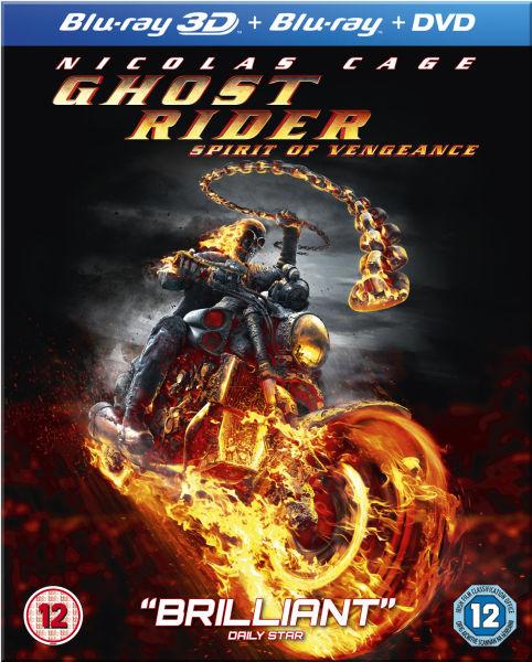 Ghost Rider 2: Spirit Of Vengeance (Blu-Ray 3D, Blu-Ray