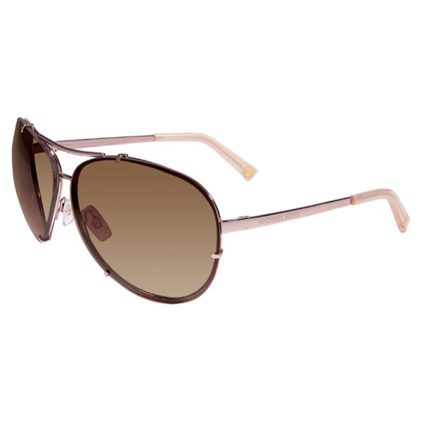 af5ffcbc5192 ... MICHAEL MICHAEL KORS Women's Stella Metal Aviator Style Sunglasses - Rose  Gold
