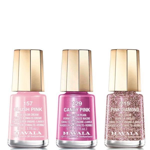 Mavala Pink Trio