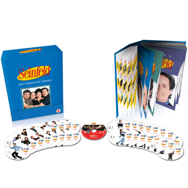 seinfeld the complete series 1 9 box set dvd. Black Bedroom Furniture Sets. Home Design Ideas