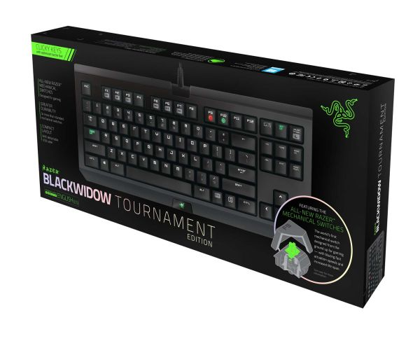 Razer Blackwidow Tournament Edition 2014 Essential Mechanical USB Keyboard