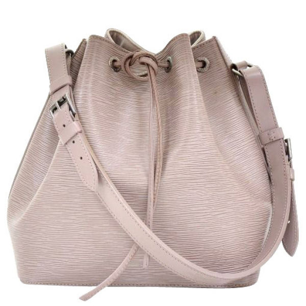Louis Vuitton Vintage Epi Leather Noe Pe Lilac Shoulder Bag Image 1