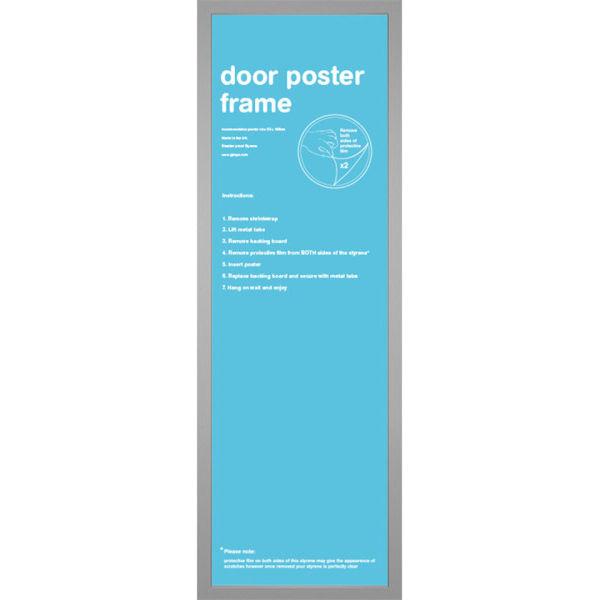 Silver Frame Door - 53 x 158cm