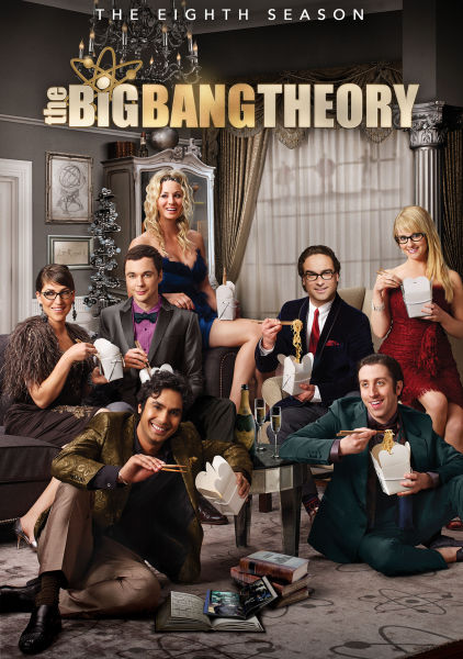 The Big Bang Theory Season 8 Blu Ray Zavvi