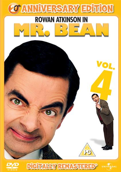 Mr Bean Series 1 Volume 4 20th Anniversary Edition