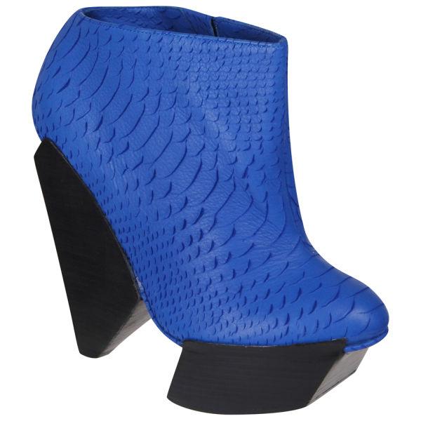 Senso Women's Delilah Matt Snake Heels - Blue