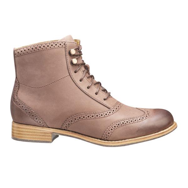 Sebago Women's Claremont Boots - Burgundy