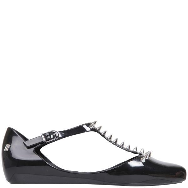 Melissa Women's Doris Spikes Flats - Black