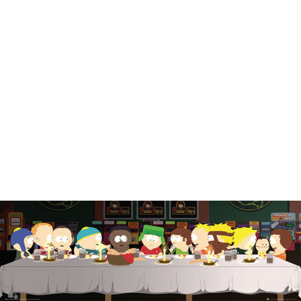 South Park Last Supper - Midi Poster - 30.5cm x 91.5cm
