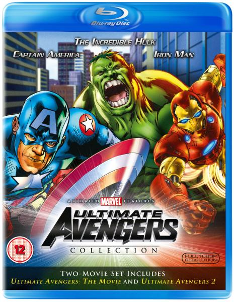 The Ultimate Avengers 1-2 Blu-ray | Zavvi España