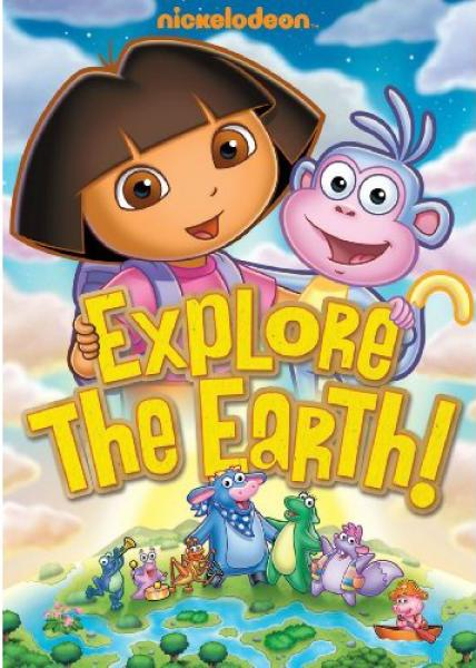 Dora The Explorer Explore The Earth Dvd Zavvi