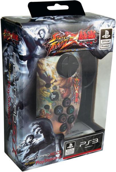 Street Fighter X Tekken Wired Fight Pad Ryu Eu Games