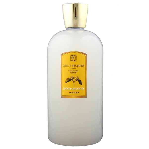 Trumpers Sandalwood Skin Food - 500ml Reiseflasche