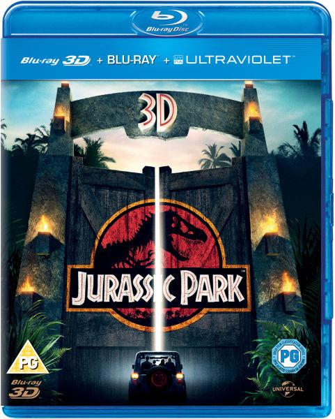 Jurassic Park 3D (Includes UltraViolet Copy and 2D Version)