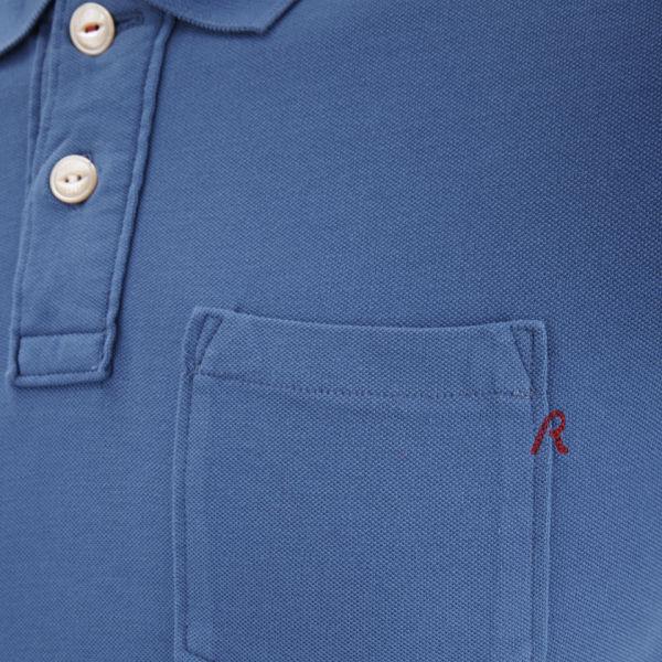2da2f77c21ce REPLAY Men s Polo Shirt - Blue Clothing