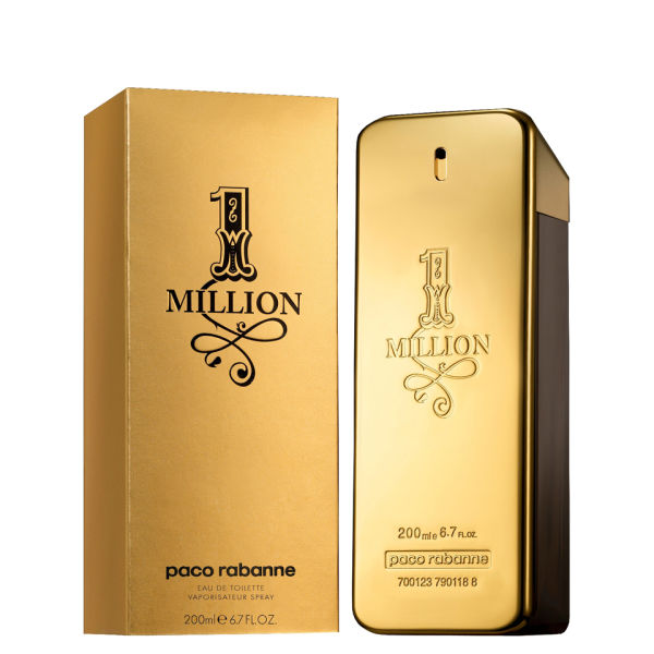 Paco Rabanne 1 Million for Him Eau de Toilette 200 ml