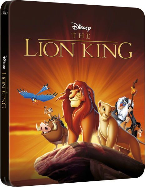 The Lion King 3D  Zavvi Exclusive Limited Edition Steelbook The