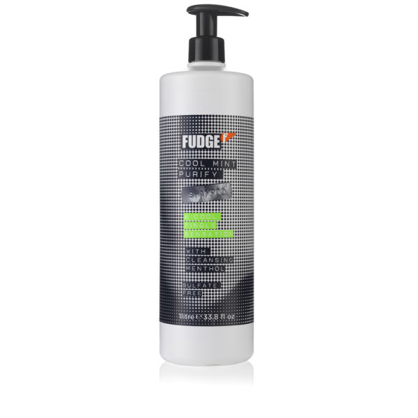 Fudge Cool Mint Purify Shampoo (1000ml) - (Worth £33.00)