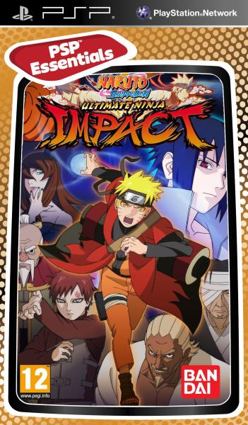 Naruto Shippuden Ultimate Ninja Impact Essentials Psp