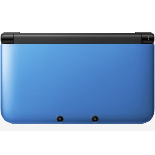 nintendo 3ds xl console blue and black games consoles. Black Bedroom Furniture Sets. Home Design Ideas