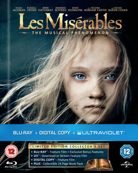 Les Misérables - Limited Edition DigiBook (Includes Digital and UltraViolet Copies)