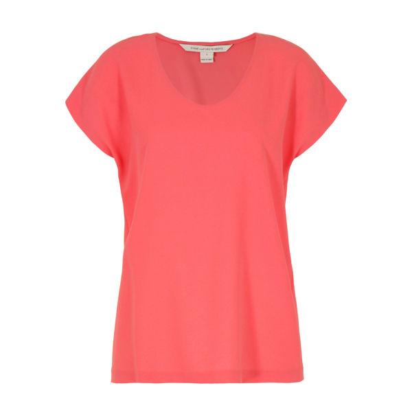 Diane von Furstenberg Women's Acedia Top - Pink Nectar