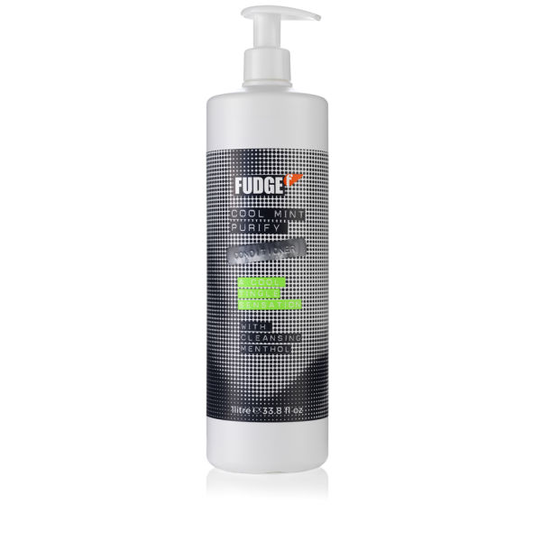 Cool Mint Purify Conditioner de Fudge (1000ml) - (Une valeur de 33,00 £)