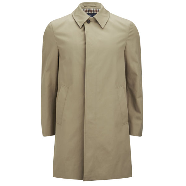 Aquascutum Men S Broadgate Trench Coat Camel Kleidung