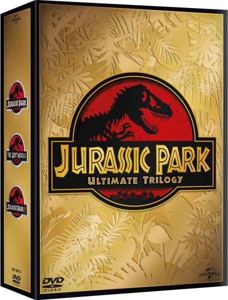 Jurassic Park Trilogy Dvd Zavvi