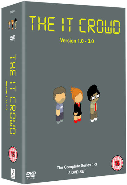 The IT Crowd Box Set Series 1-3