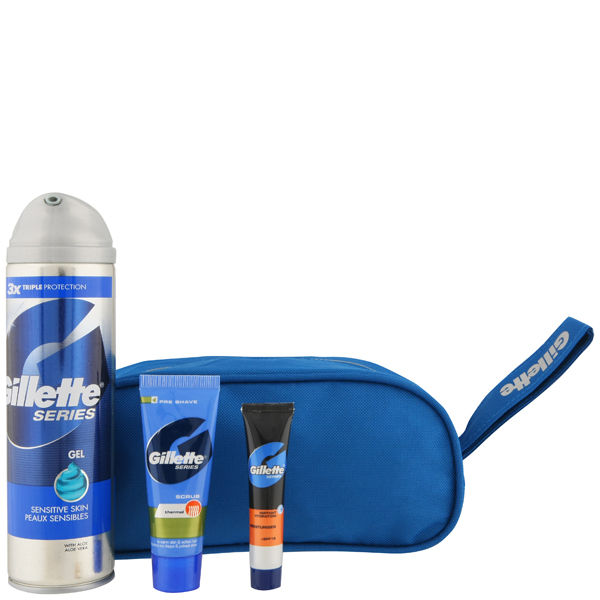 5df7019203ac Other customers purchased instead. GILLETTE SHAVE PREP BAG ...