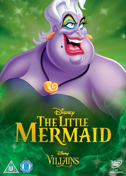 The Little Mermaid Disney Villains Limited Artwork