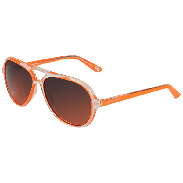 MICHAEL MICHAEL KORS Women s Caicos Clear Plastic Style Sunglasses - Orange    Buy Online   Mankind 13ead18be1a5