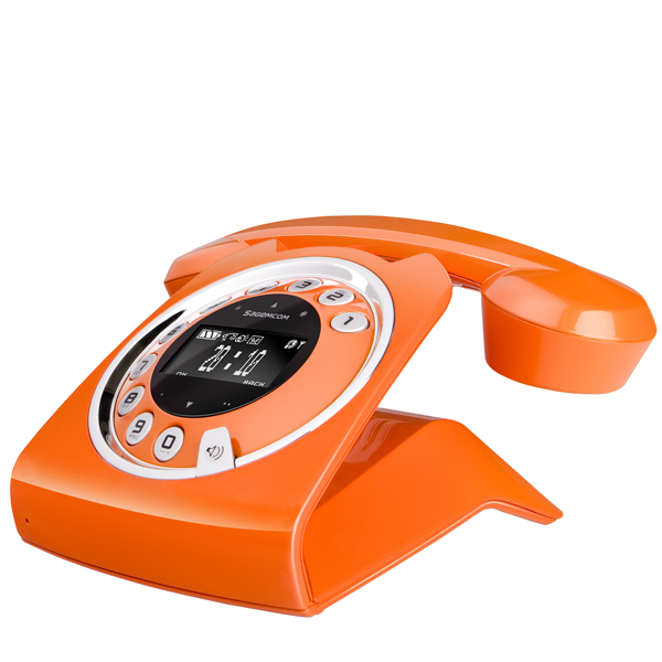 sagemcom sixty digital cordless phone orange gifts for him. Black Bedroom Furniture Sets. Home Design Ideas