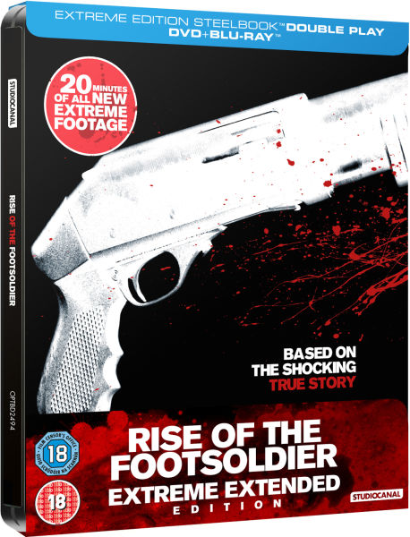 Rise of the Footsoldier - Limited Extreme Extended Steelbook Edition