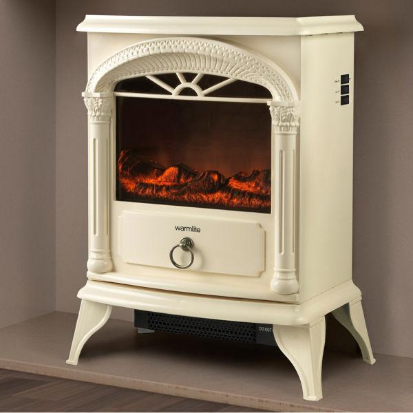 Warmlite 1800w Single Electric Stove Fire Cream Iwoot