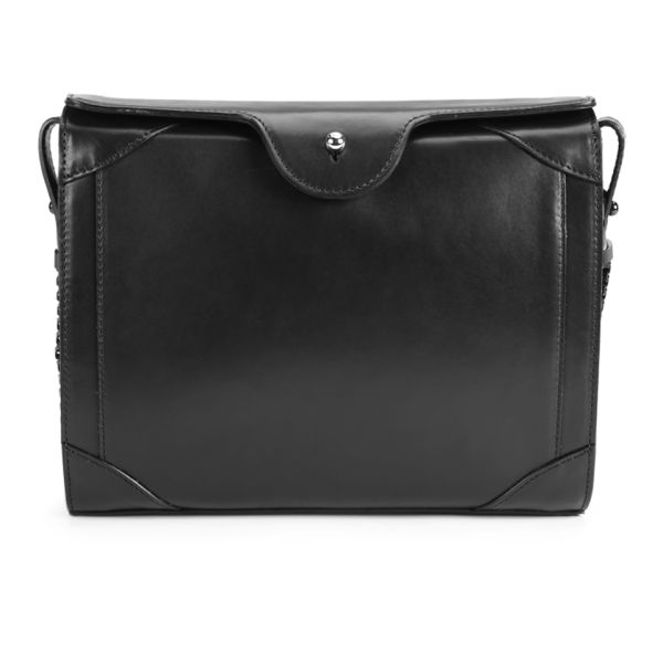 Carven Leather Classic Cross Body Bag - Black
